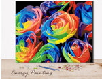 REF237-ENERGY-PAINTING-PEINTURE-PAR-NUMERO-ROSES-COLOREE