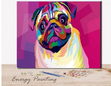 REF259-ENERGY-PAINTING-PEINTURE-PAR-NUMERO-CARLIN-POP-ART
