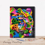 REF326-ENERGY-PAINTING-PEINTURE-PAR-NUMERO-JAGUAR-POP-ART