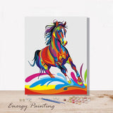 REF328-ENERGY-PAINTING-PEINTURE-PAR-NUMERO-CHEVAL-POP-ART