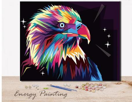 REF399-ENERGY-PAINTING-PEINTURE-PAR-NUMERO-AIGLE-POP-ART