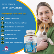 Load image into Gallery viewer, Cat & Dog Pet Vision Supplement