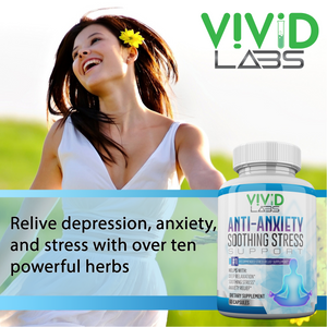 Anti-Anxiety & Stress Relief Pills