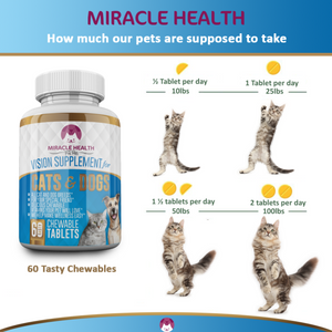 Cat & Dog Pet Vision Supplement