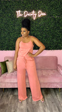Load image into Gallery viewer, Zoey | Peach Jumpsuit