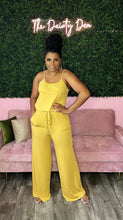 Load image into Gallery viewer, Zoey | Mustard Jumpsuit