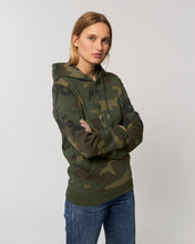 "Laden Sie das Bild in den Galerie-Viewer, Damen Organic Hoodie ""Camouflage"""