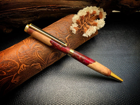 Handnmade Classic wood and resin pen
