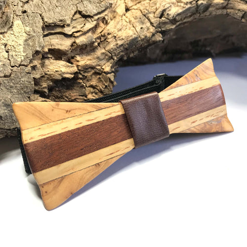 Mahogany Bow Tie - Wearable Wood