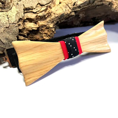 Ash-wood Bow Tie - Wearable Wood