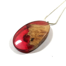 Load image into Gallery viewer, Wood and resin jewellery