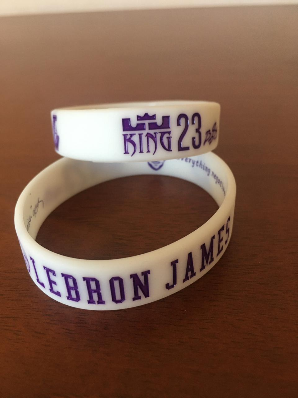 Pack pulseras LeBron James