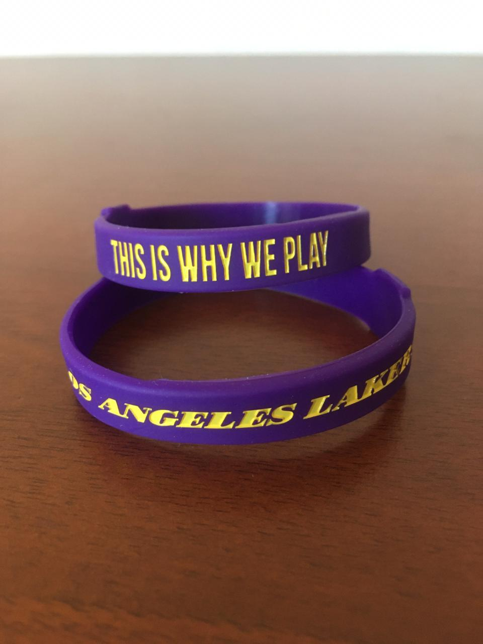 Pulsera NBA Los Angeles Lakers
