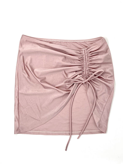 MILAN COVER UP SKIRT- BLUSH - Berry Beachy Swimwear