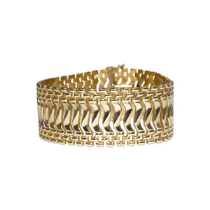 """MEREDITH"" LADIES GOLD BRACELET"