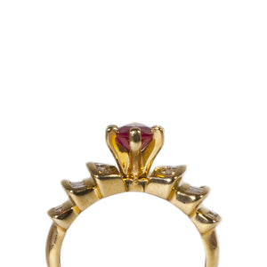 """RITA"" RUBY & DIAMOND RING"