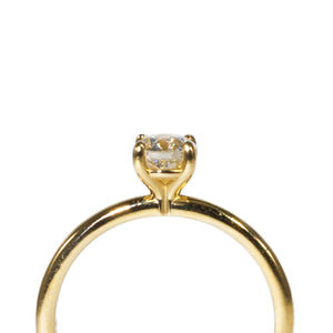 """MONSERRAT"" SOLITAIRE ENGAGEMENT RING-GIA CERT."