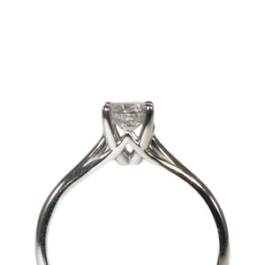 """MELANIE"" SOLITAIRE ENGAGEMENT RING"