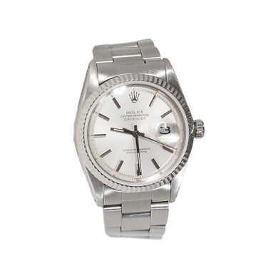 MEN'S STAINLESS STEEL DATEJUST ROLEX
