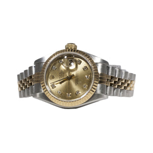 LADIES JUBILEE DATEJUST DIAMOND DIAL ROLEX
