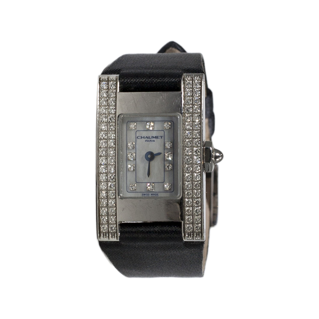 VINTAGE CHAUMET LADIES DIAMOND WATCH
