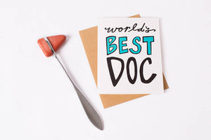 Greeting Card: Best Doc