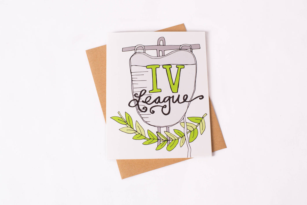 Greeting Card: IV League