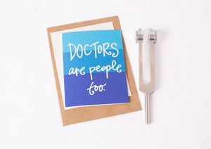 Greeting Card: Doctor People