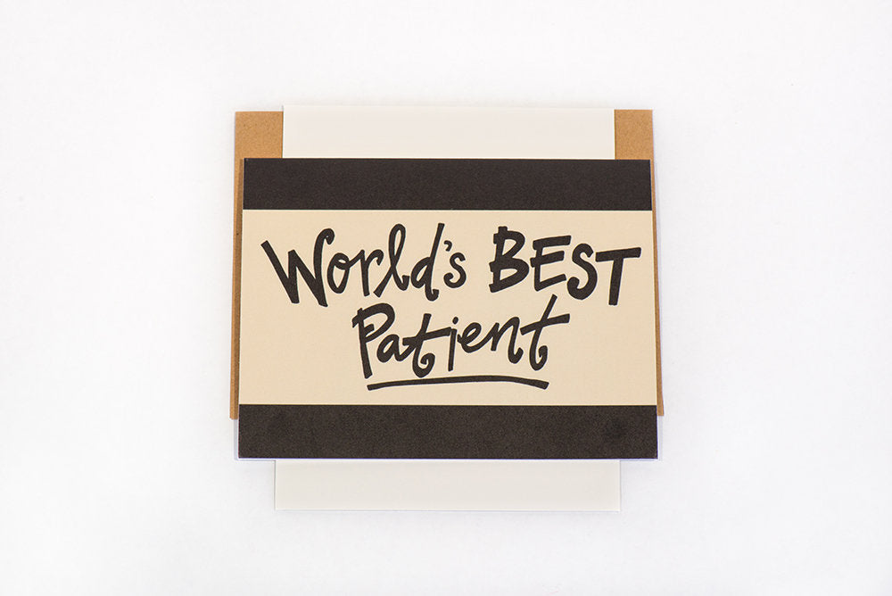 Greeting Card: Best Patient