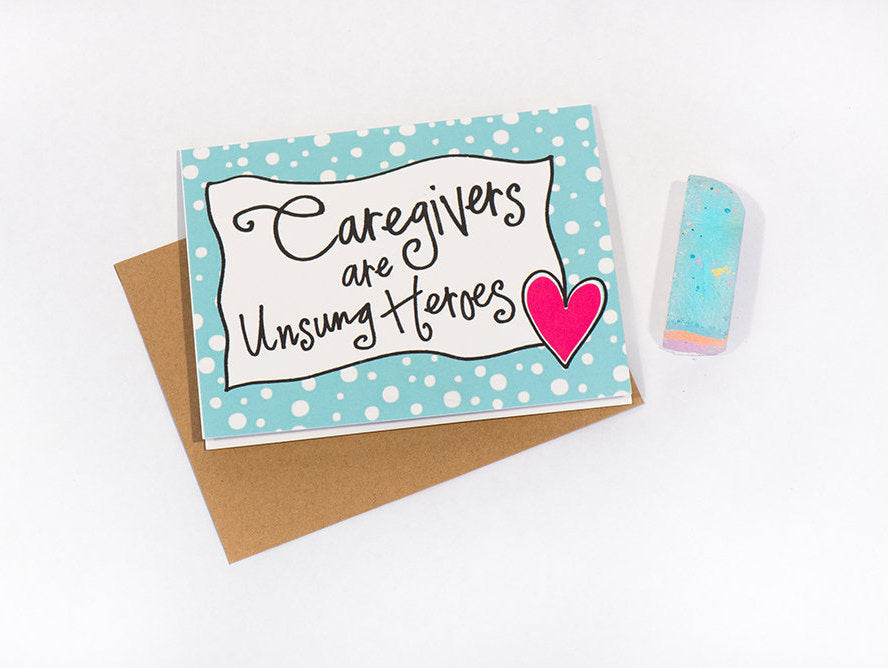 Greeting Card: Caregiver Heroes