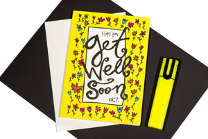 Greeting Card: Get Well Soon