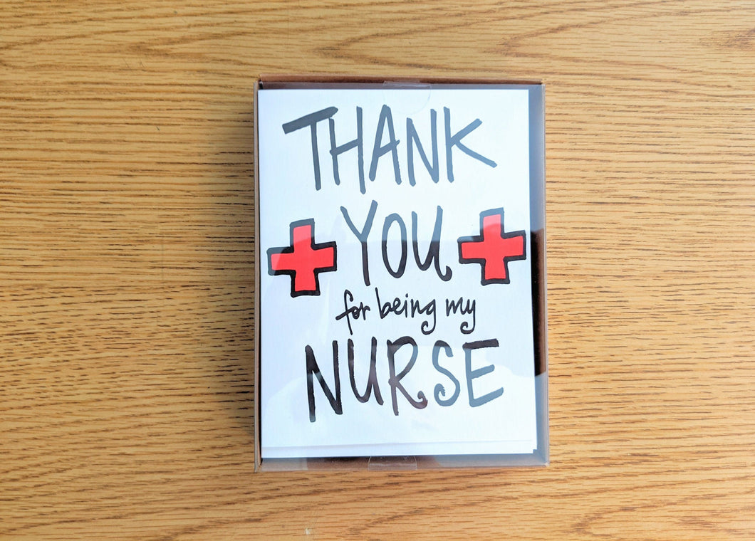 Greeting Cards Boxed Set: Thank You Nurse (10 Cards)