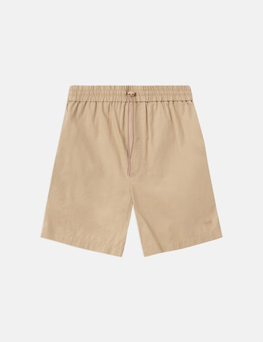 Wood Wood Baltazar Shorts - Hell Khaki Beige