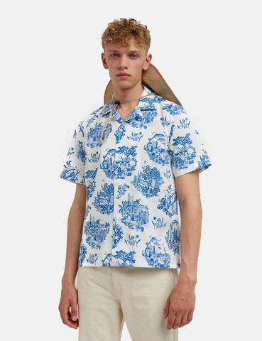 Wood Wood Brandon Shirt - Tourist Off-White