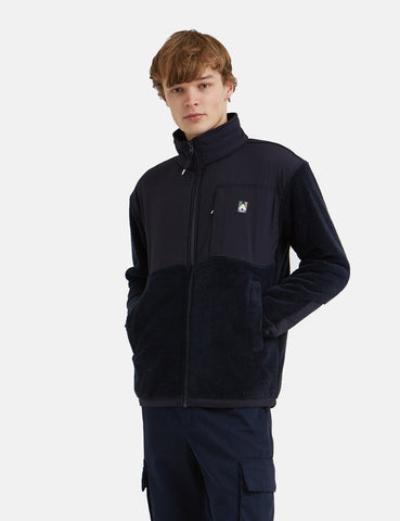 Wood Wood Hannes Fleecejacke - Navy
