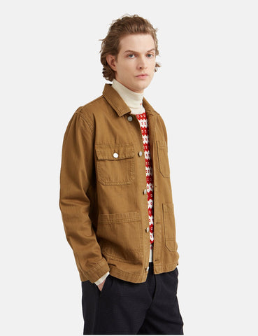 Wood Wood Gavin Jacket - Dark Moss