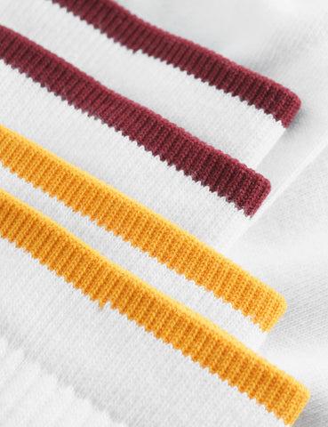 Wood Wood Gail 2-Pack Socken - Bright White Stripe