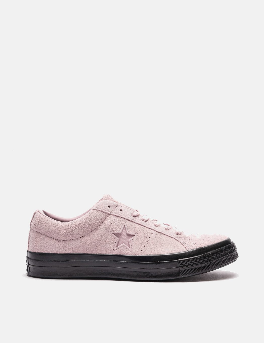 Converse One Star Ox Low Suede (163374C) - Plum Chalk / Schwarz