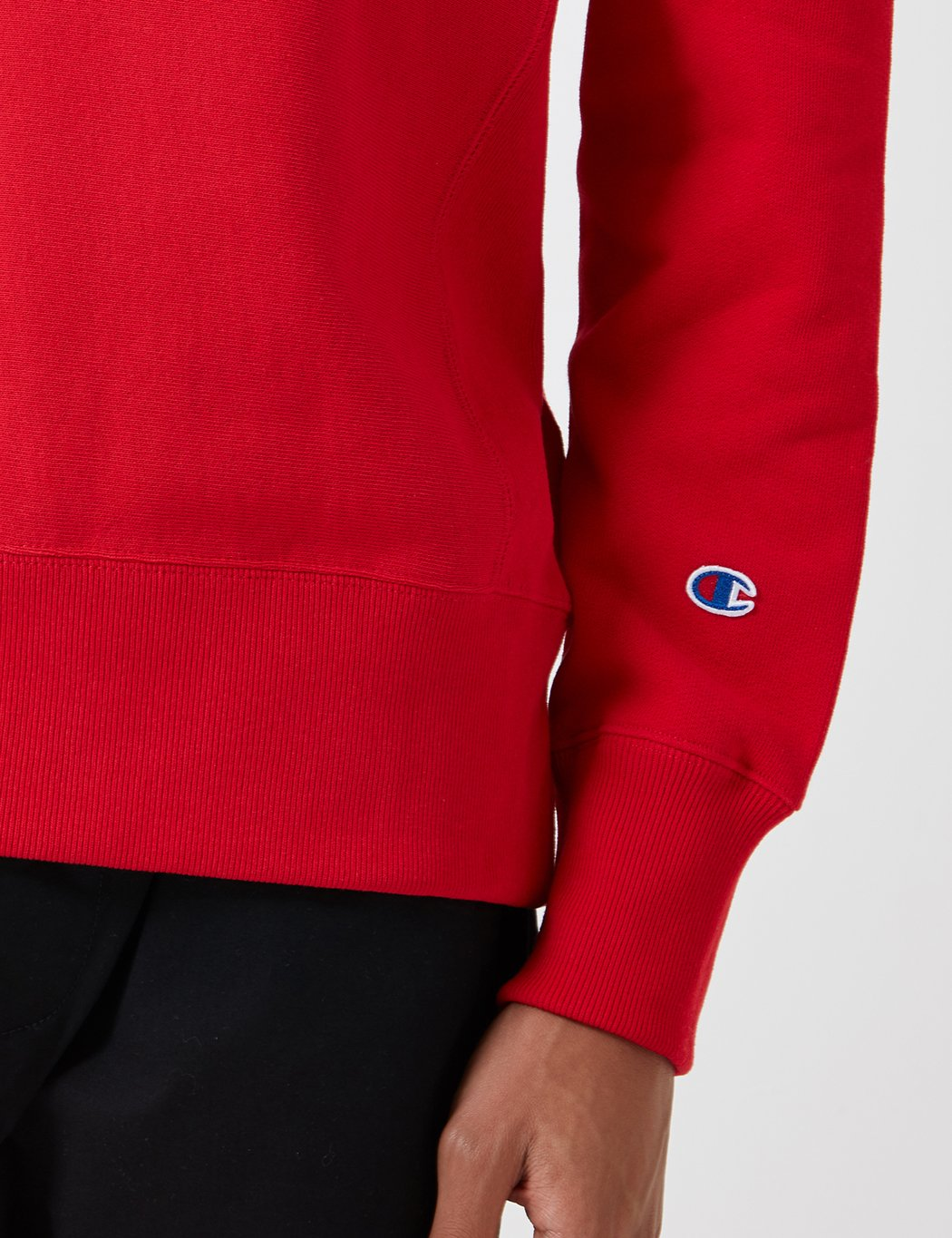 Champion Reverse-Weave Sweatshirt - Heather Red