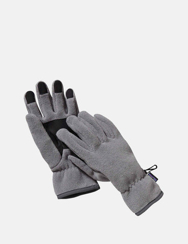 Patagonia Synch-Handschuhe (Fleece) - Nickel Brown