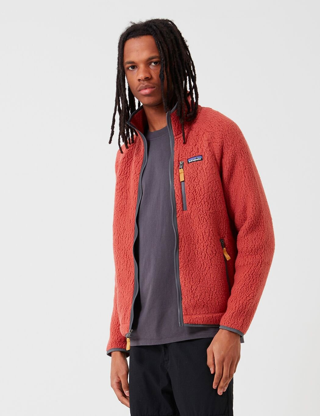 Patagonia Retro Pile Jacke - Spanisch Red