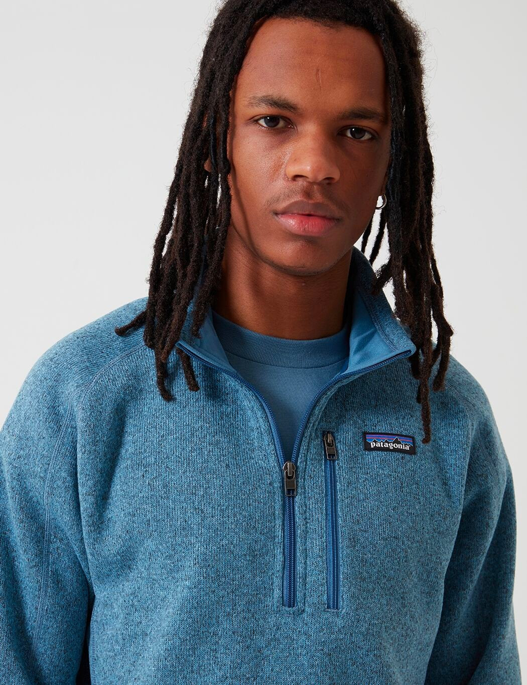 Patagonia Better Sweater 1/4 Zip Fleece - Taubenblau