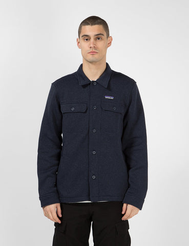 Patagonia Better Sweater Hemd Jacke - New Marine-Blau
