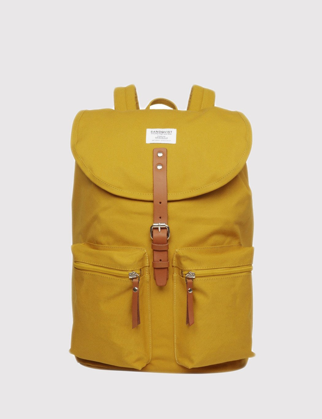 Sandqvist Roald Ground Backpack - Ground Yellow