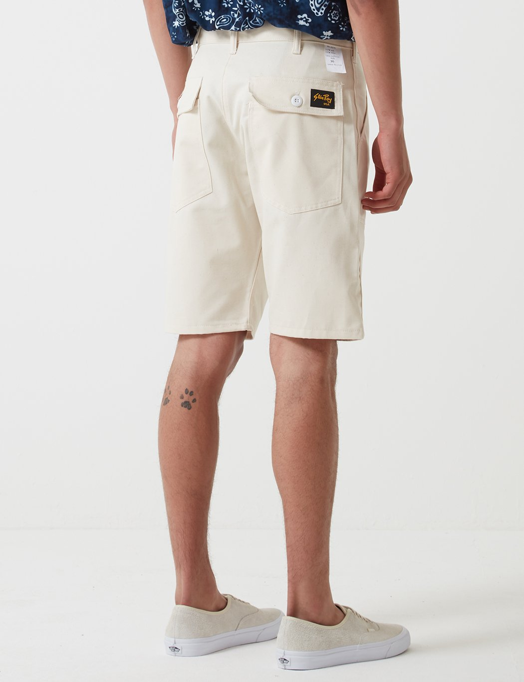 Stan Ray Fatigue Shorts - Natürlicher Drill