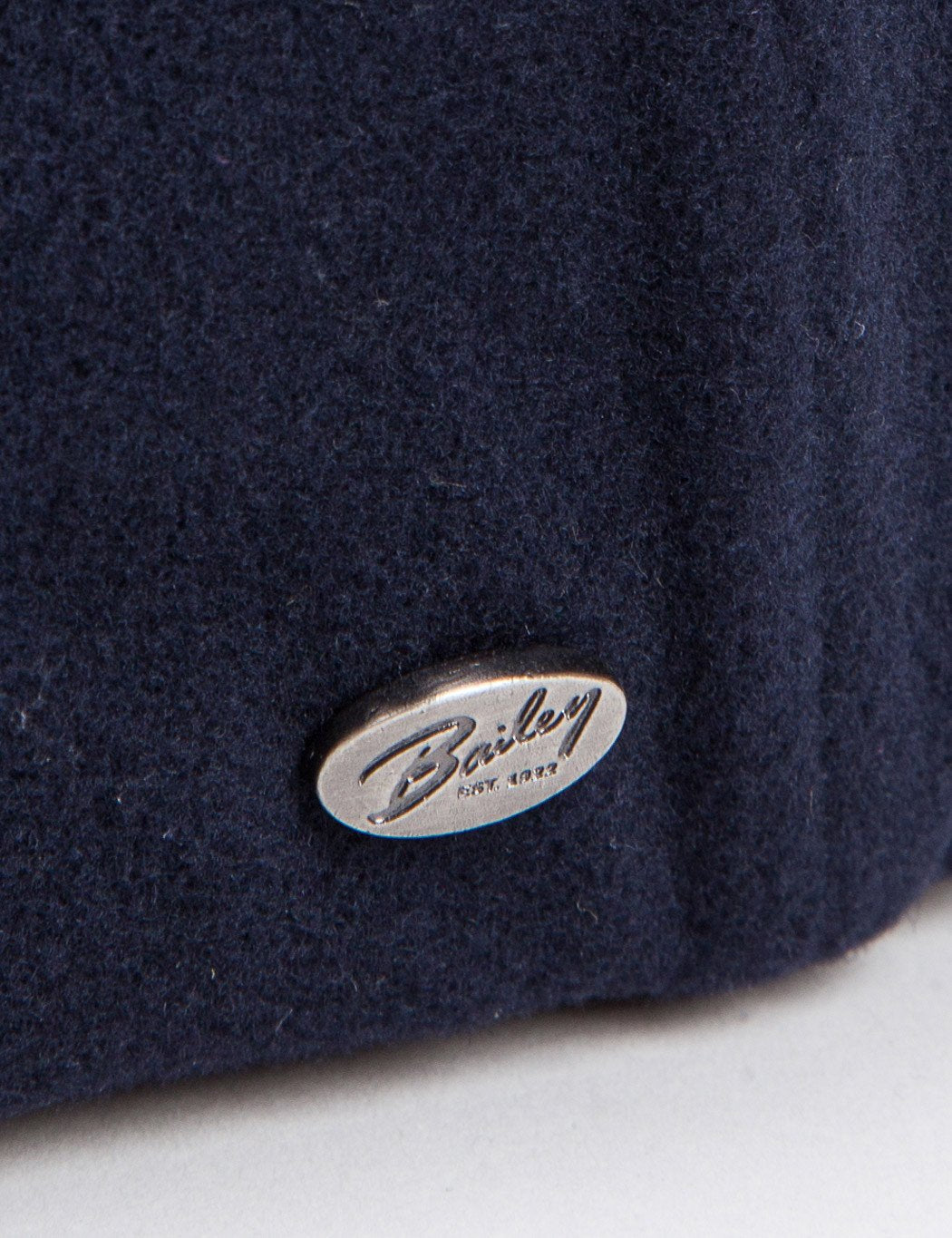 Bailey Galvin Wolle Newsboy Cap - Marineblau