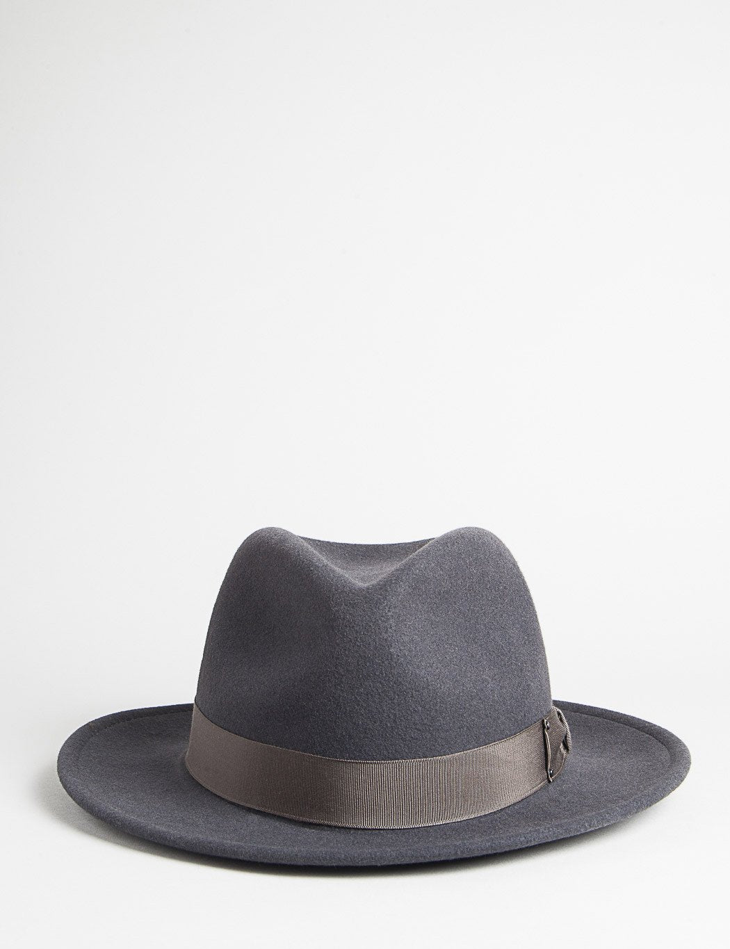 Bailey Curtis Widebrim Fedora-Hut - Grau