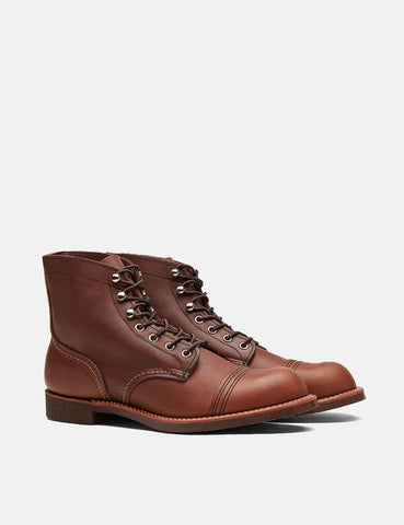 "Red Wing 6"" Iron Ranger Boot (8111) - Bernstein Brown Harness"