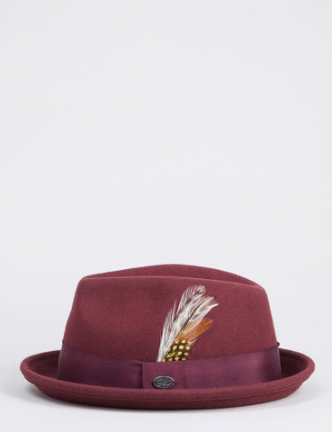 Bailey Cloyd Trilby-Hut - Oxblood