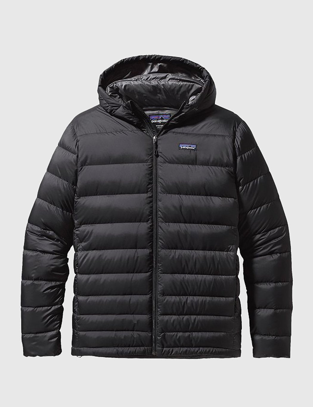 Patagonia Hi Loft Down Hooded Jacket - Black